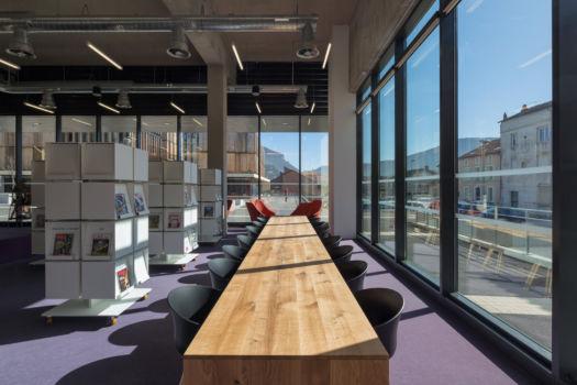 KcomK Architectes - Médiathèque de Millau - 7