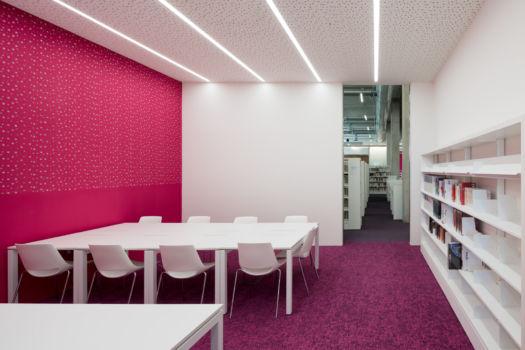 KcomK Architectes - Médiathèque de Millau - 10