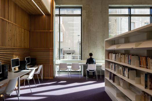 KcomK Architectes - Médiathèque de Millau - 11