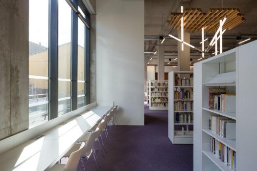 KcomK Architectes - Médiathèque de Millau - 12