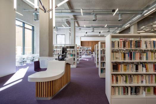 KcomK Architectes - Médiathèque de Millau - 13