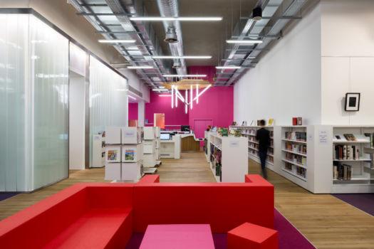 KcomK Architectes - Médiathèque de Millau - 15