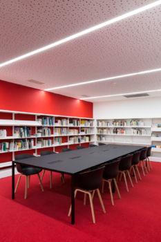 KcomK Architectes - Médiathèque de Millau - 16