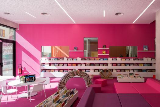 KcomK Architectes - Médiathèque de Millau - 25